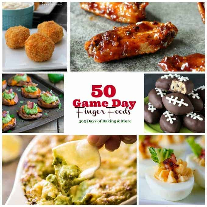 These Game Day Finger Foods from wings to nachos and everything in between will please any hungry crowd and make watching the big game that much more fun!