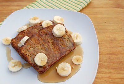 Banana Bread French Toast - why just have plain ol' banana bread when you can kick it up a bit?