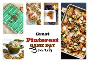 Great Pinterest Game Day Boards