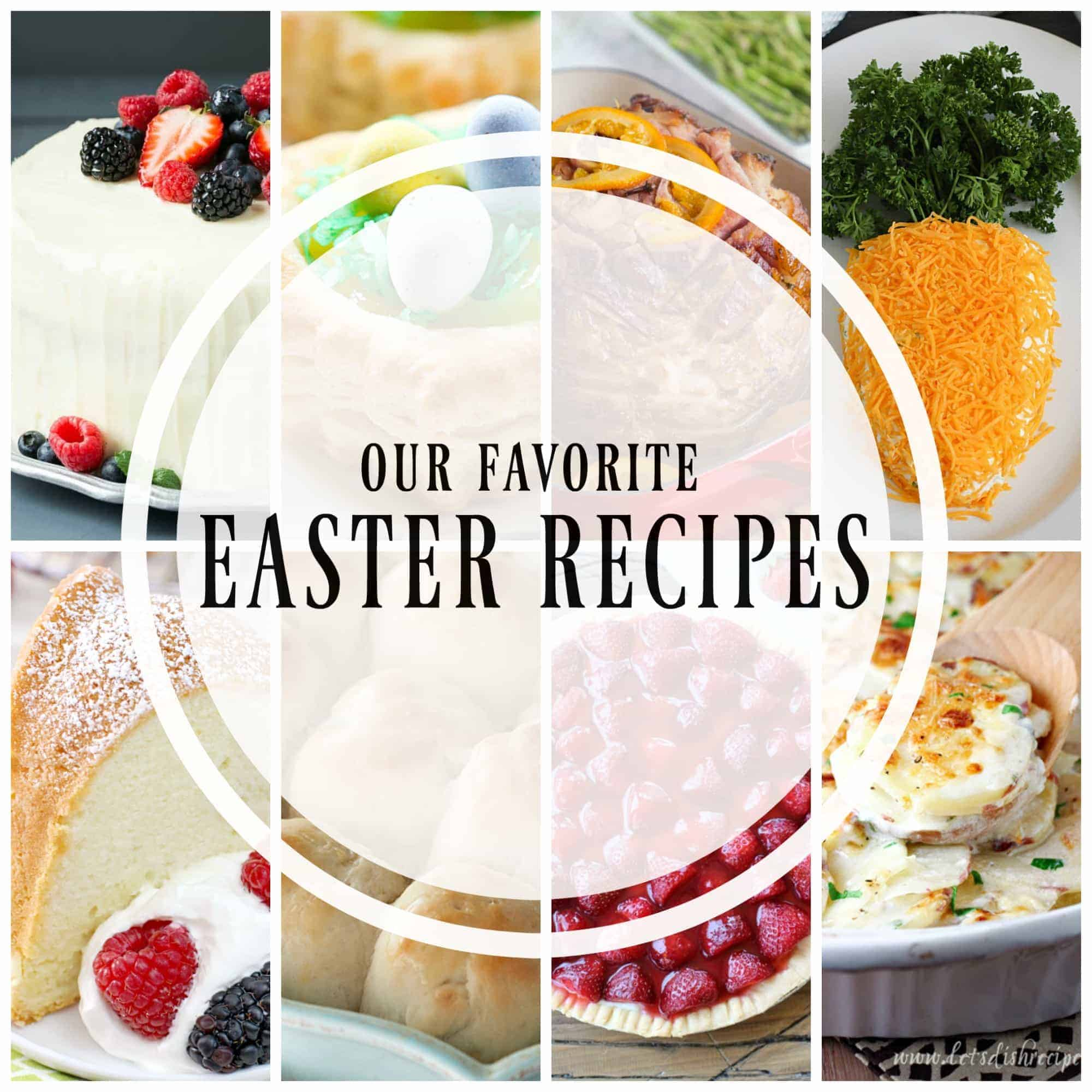 Spring is in the air and with Spring comes Easter! Here is a great selection from some of your favorite bloggers of their favorite Easter recipes.