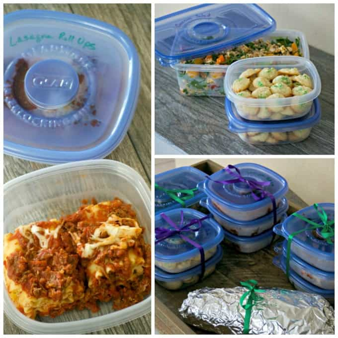 Share your favorite meal in Glad containers for the Glad to Give campaign.