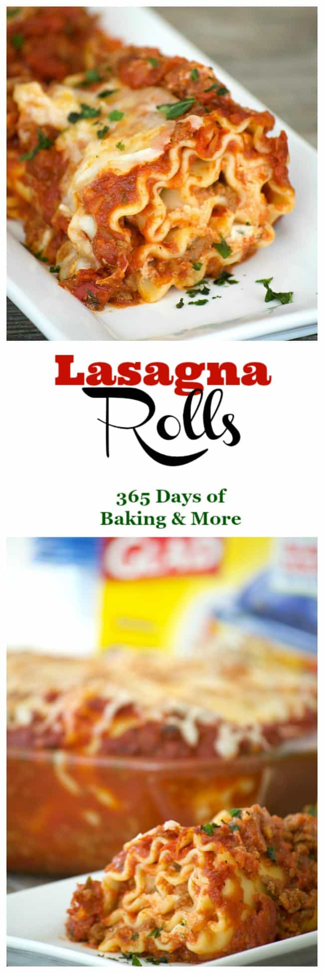 Cheese filled lasagna rolls topped with a flavorful meat sauce - a meal you can't help but share.Share them for your Glad to Give meal to see the smiles.