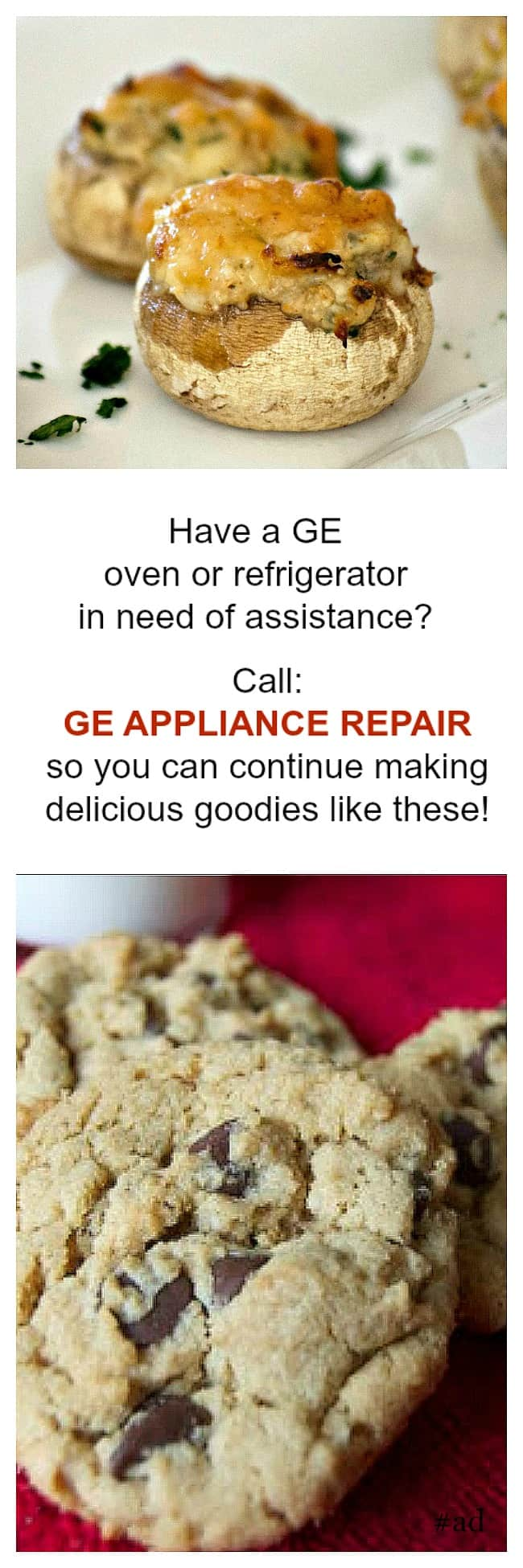 Have your General Electric Appliance repaired quickly and accurately by factory-trained technician in your area by GE Appliance Repair. #ad