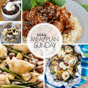 Easy Meal Plan Sunday {Week 99}