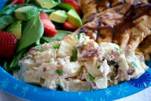 Loaded Red Bliss Potato Salad