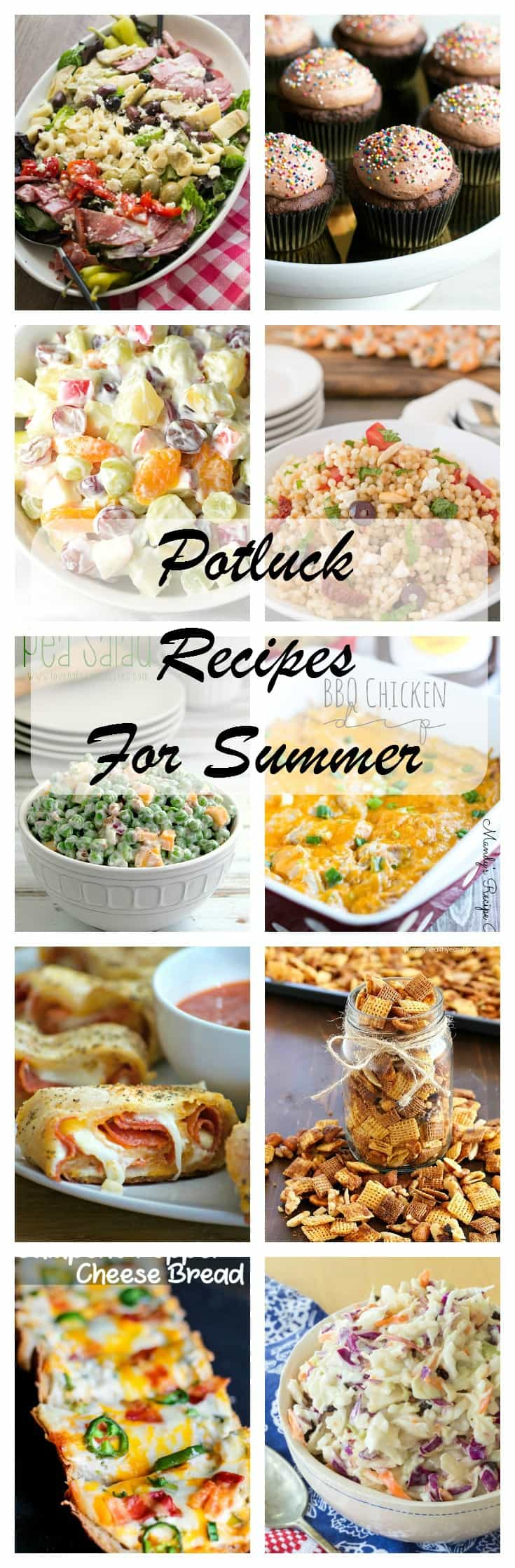 These Summer Potluck Recipes, from salads and wraps to dips and desserts, are dishes to please a hungry crowd and ones you'll make again and again.