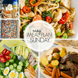 Easy Meal Plan Sunday {Week 102}