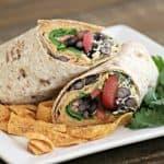 Taco Hummus Wraps