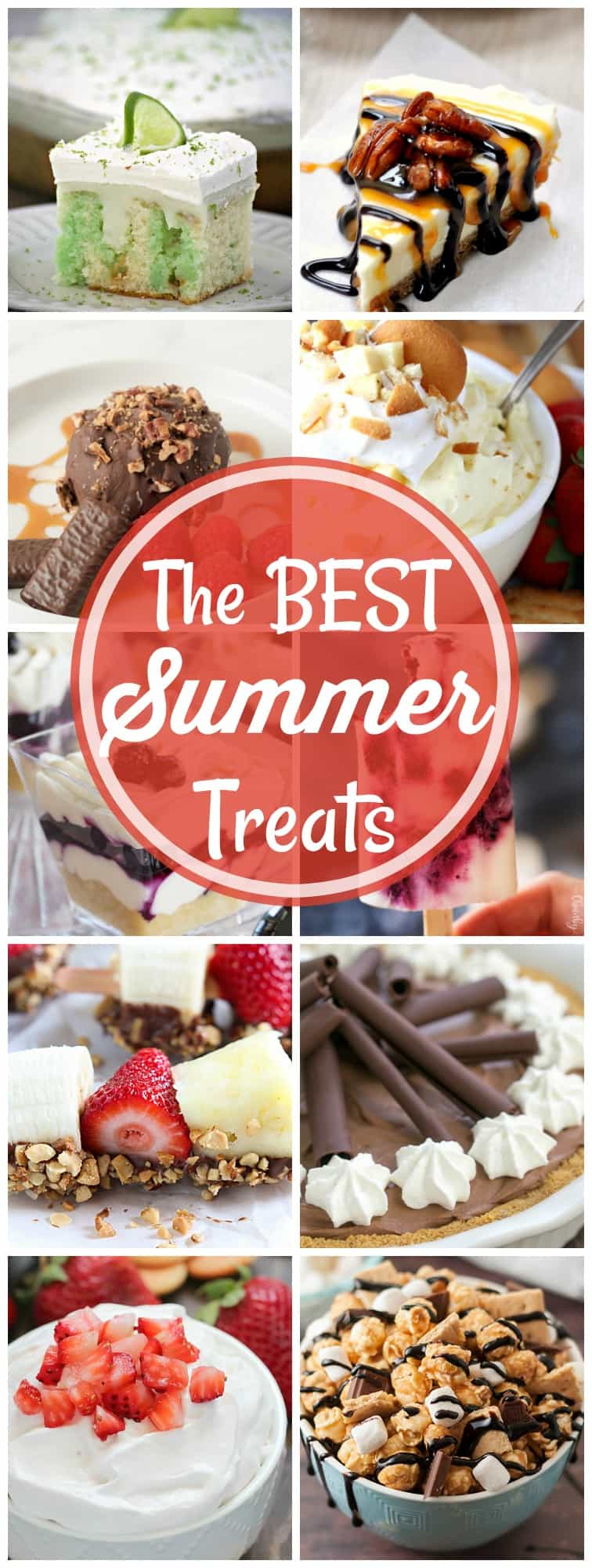 In this compilation of the Best Summer Treats, you'll find something perfect for everyone's taste buds. They're easy treats to celebrate the end of summer!