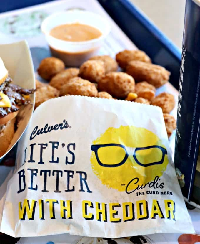 Did you know that October 15 is National Cheese Curd Day? Celebrate it by enjoying those breaded and deep-fried white and yellow cheddar bites at Culver's.