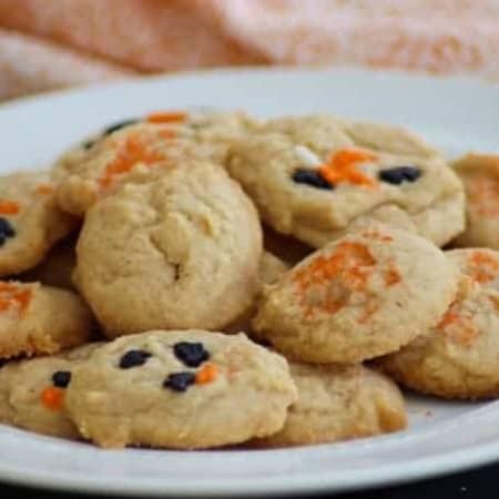 Pumpkin Spice Cream Cheese Cookies