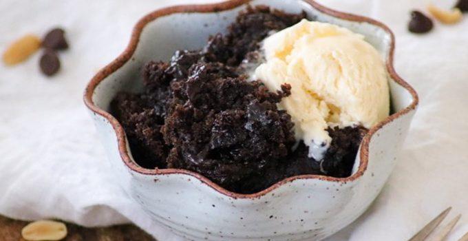 Chocolate Peanut Butter Pudding Cake