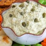 Combine your love of dill pickles and egg salad into this tasty Dill Pickle Egg Salad Dip. Serve with an assortment of veggies, crackers, chips and breads, this appetizer will be perfect for your next party. Made with Great Day Farms Peeled and Ready-To-Eat Hard Boiled Eggs, convenience couldn't be any easier!