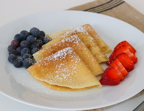 Easy Crepe Recipe 365 Days Of Baking And More