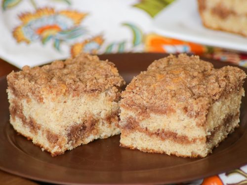 Cinnamon Sour Cream Coffee Cake 365 Days Of Baking And More