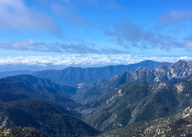 Mt. Williamson north of Wrightwood, CA. One of the views along the Pacific Crest Trail.