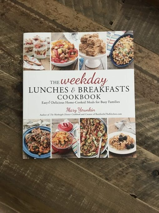 Mary Younkin's cookbook, The Weekday Lunches & Breakfasts