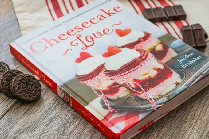 The Cheesecake Love cookbook by Jocelyn Brubaker of the food blog, Inside BruCrew Life.
