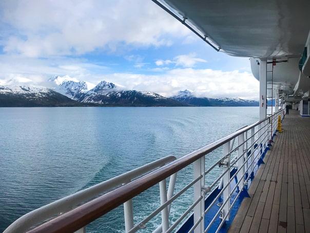 View of Alaska from Princess Cruises, Island Princess