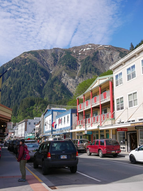Downtown Juneau, Alaska- What to Pack for an Alaska Cruise