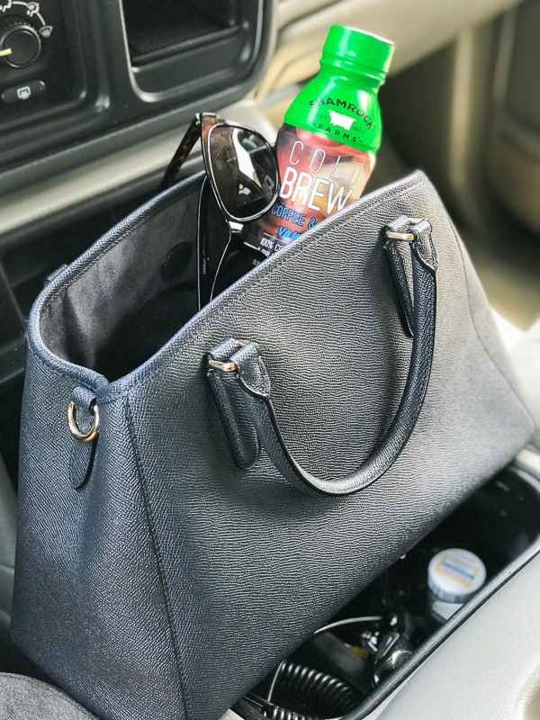 Shamrock Farms Cold Brew Coffee and Milk ready for errands in my purse!