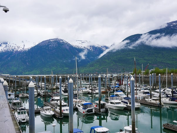Skagway Marina in Skagway, Alaska- What to Pack for an Alaska Cruise