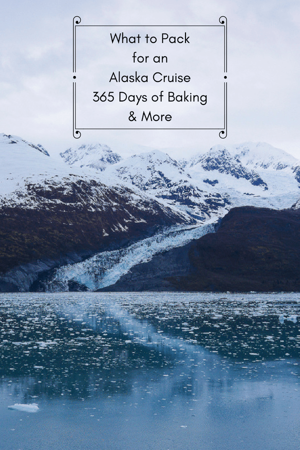 A glacier in College Fjord, Alaska - What to Pack for an Alaska Cruise