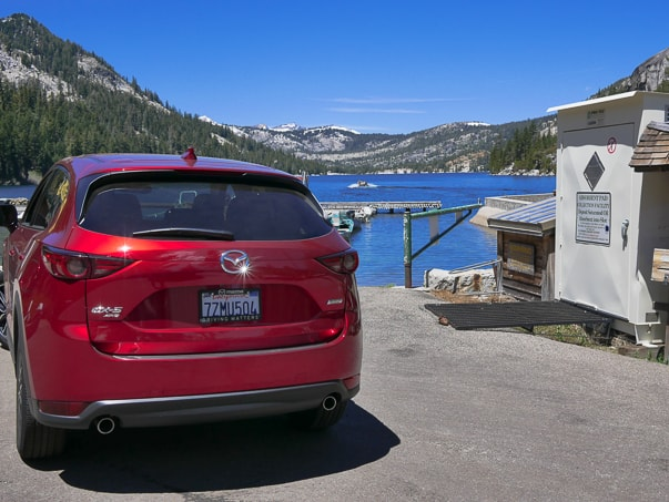 2018 Mazda CX-5 Grand Touring AWD at Echo Lake, CA