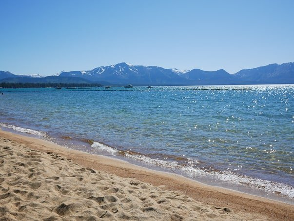 Lakeside Beach, South Lake Tahoe, CA