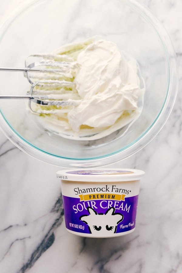 Jalapeño Ranch Dip with Shamrock Farms Sour Cream.