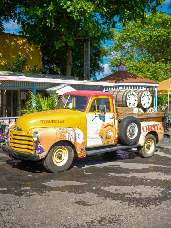 Tortuga Rum Factory Truck.