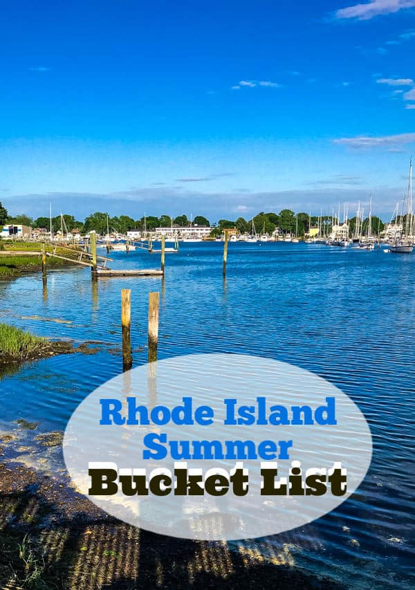 Rhode Island Summer Bucket List