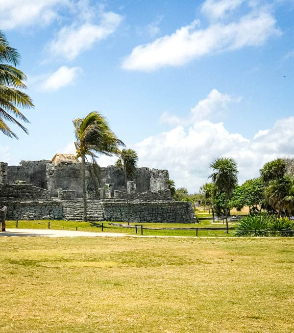 Ruins in Tulum, Mexico.