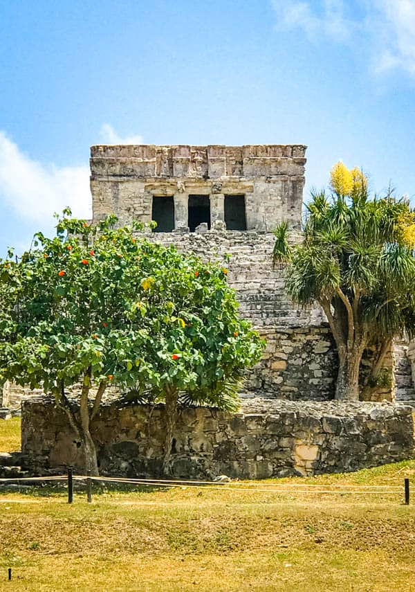 The Castillo in Tulum.