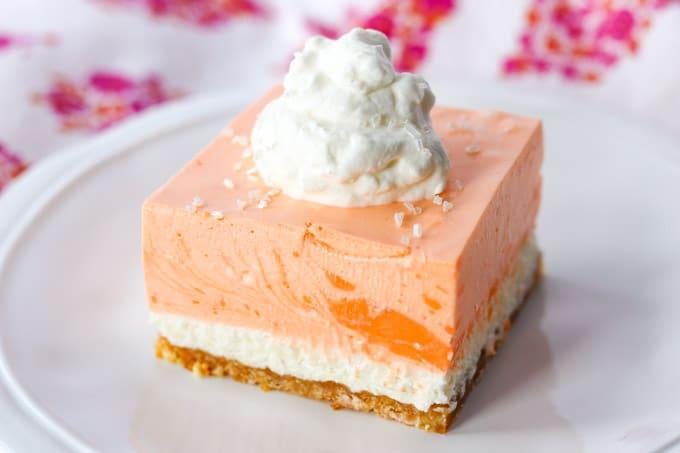Orange Creamsicle Dream Bars