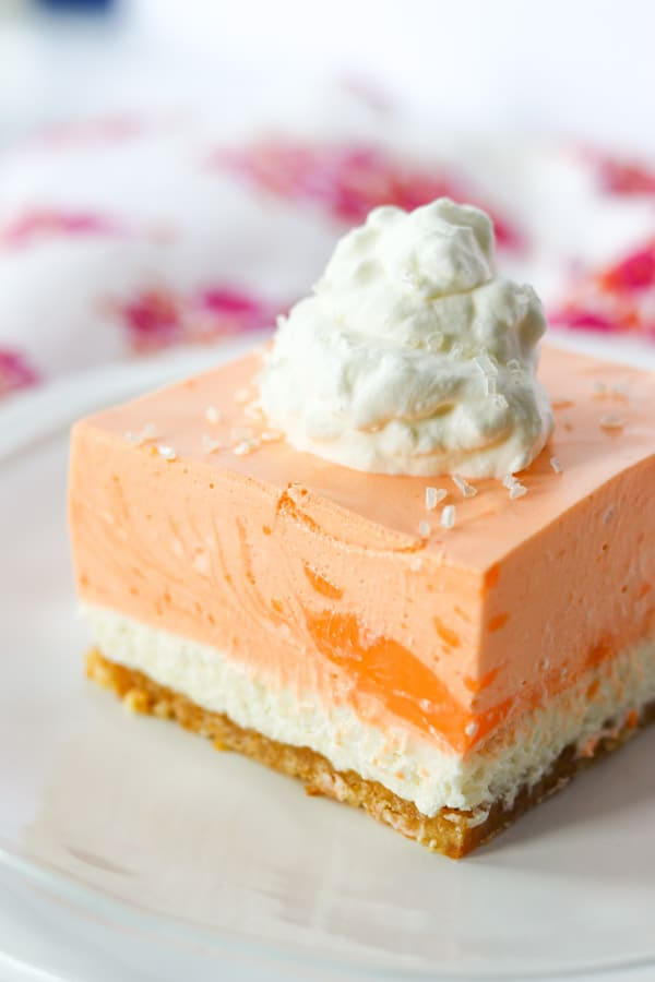 Orange Creamsicle Dream Bars Recipe