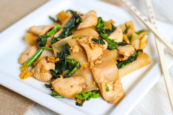 A Thai recipe, Pad See Ew.