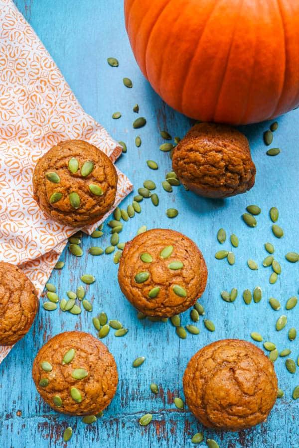 Dairy-free Pumpkin Muffins.
