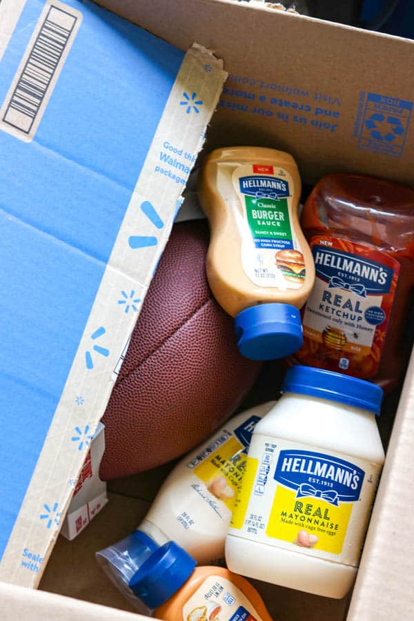 Hellmann's condiments delivered from Walmart NextDay Delivery.