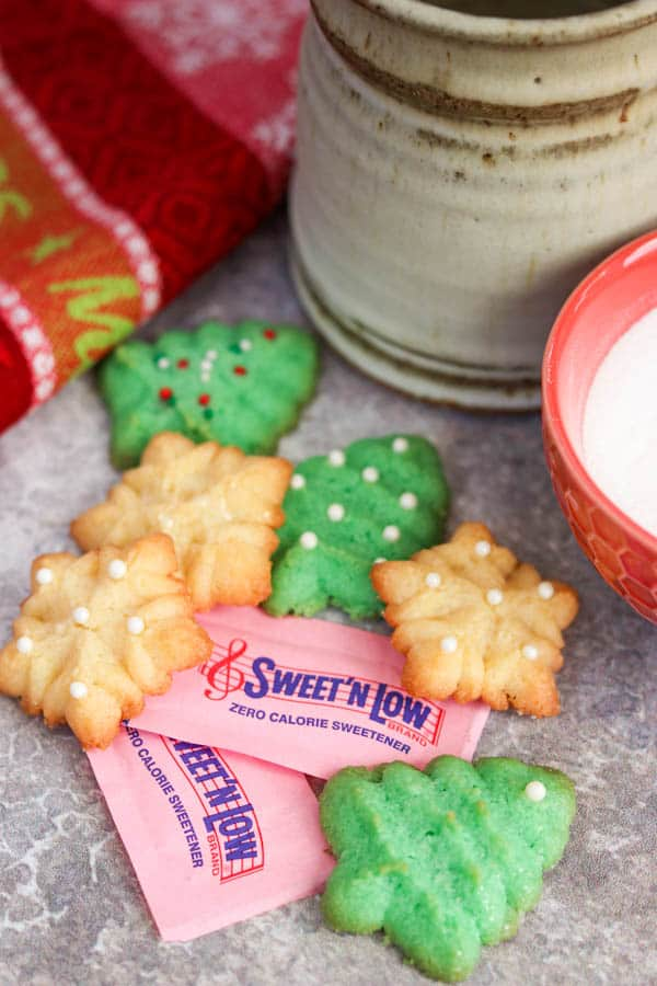 Spritz Cookies Recipe made with Sweet'N Low®.