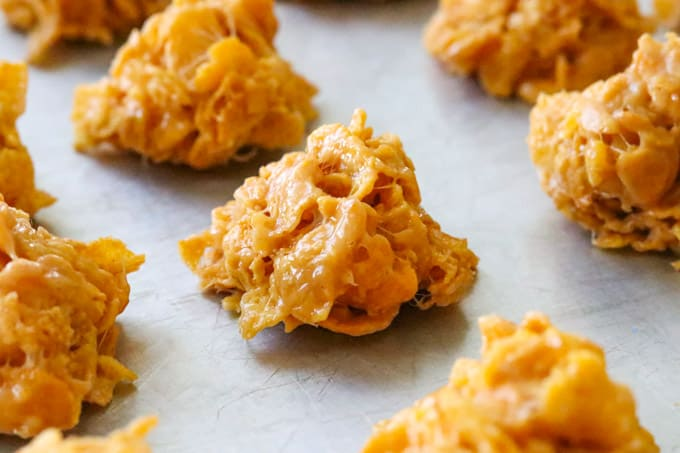 Easy Cornflake Cookies