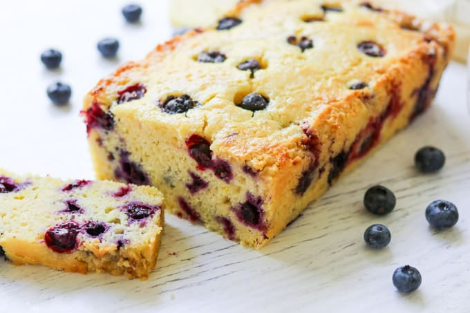 Blueberries and lemon make this easy bread a perfect accompaniment to afternoon tea or morning coffee.