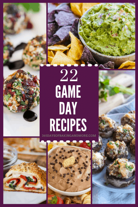Easy recipes for watching the big game!