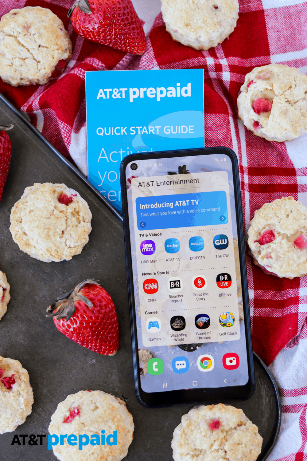 AT&T PREPAID now has a 12-month plan for one payment of $300.