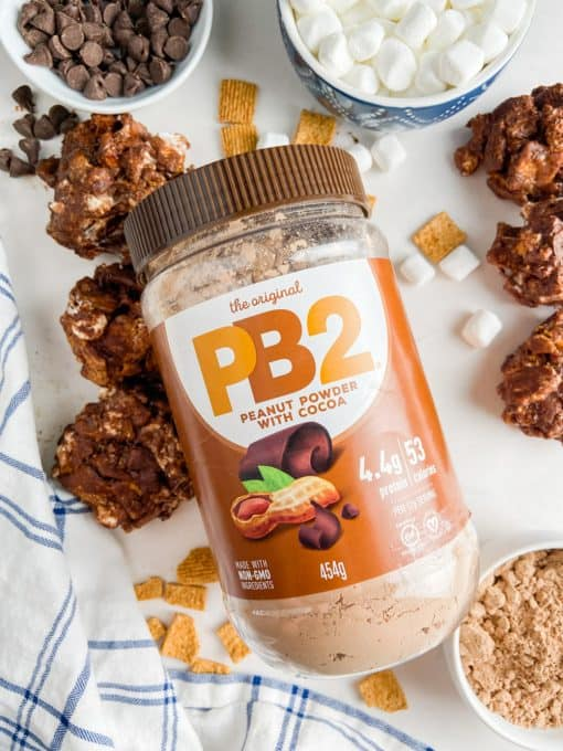 PB2 Peanut Butter Powder with Cocoa.