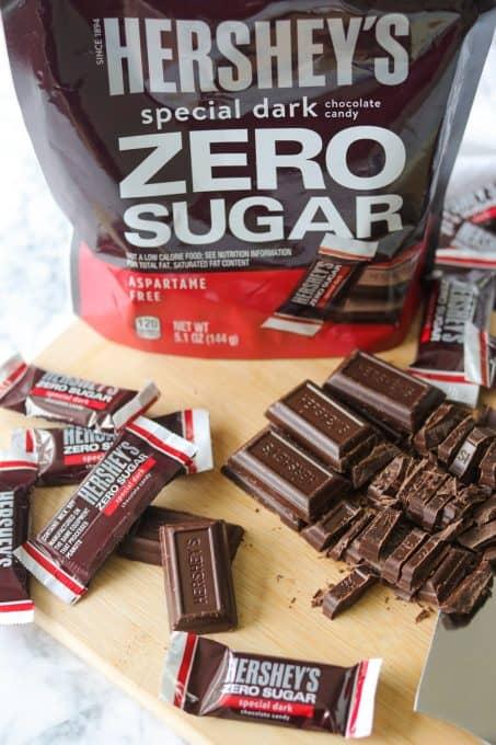 HERSHEY'S Zero Sugar Special Dark Chocolate
