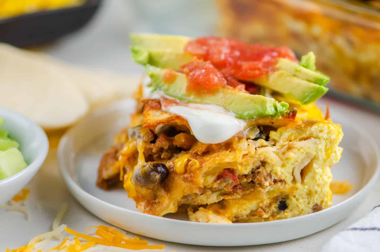 Mexican Breakfast Casserole – Make Ahead Breakfast