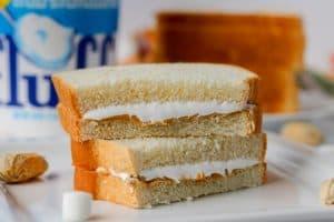 A Fluffernutter sandwich