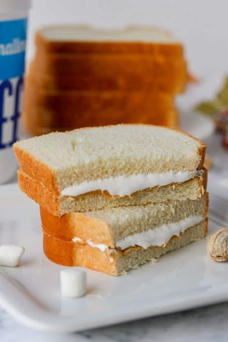 A Fluffernutter sandwich.